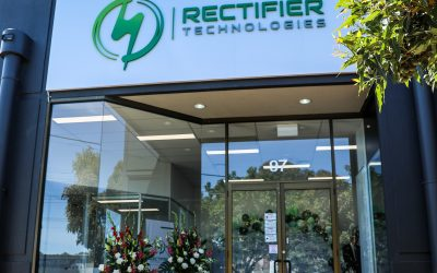 Opening Ceremony at Rectifier Technologies HQ