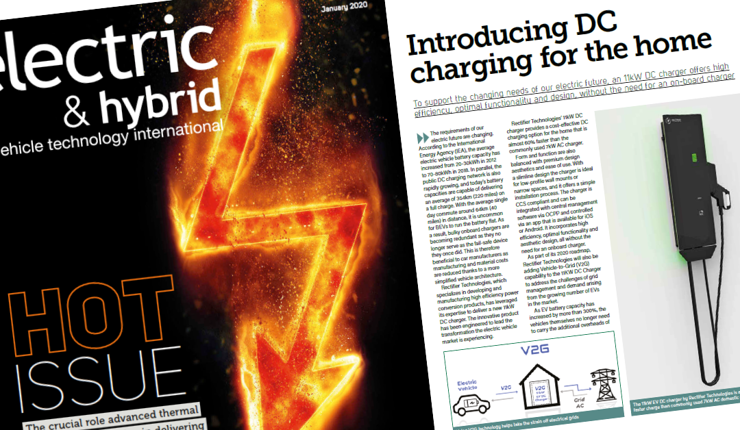 Electric & Hybrid: Introducing DC charging for the home
